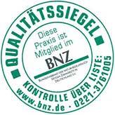 Siegel des Bundesverbands für naturheilkundlich tätige Zahnärzte